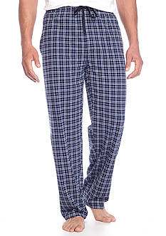 Saddlebred® Knit Plaid Lounge Pants