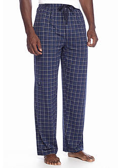 Saddlebred® Knit Mini Grid Lounge Pants