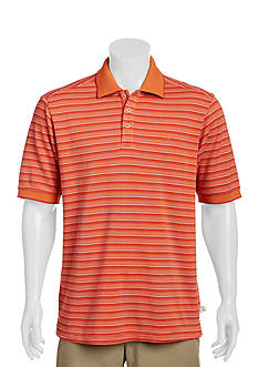 Tommy Bahama Big & Tall Emfielder Fairway Stripe Polo Shirt