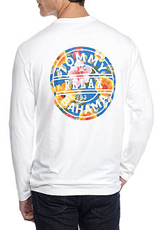 Tommy Bahama Big & Tall Long Sleeve Relax '93 Graphic Tee