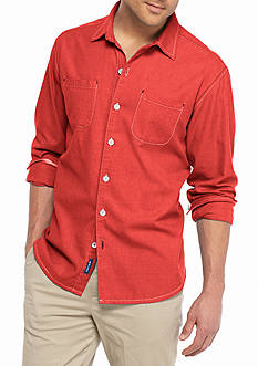 Tommy Bahama® Big & Tall New Seaside Flannel Shirt