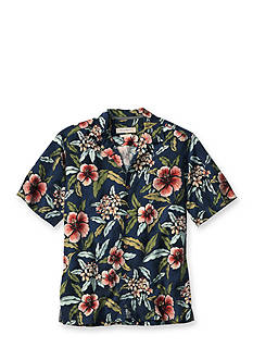 Tommy Bahama® Big & Tall Garden of Hope and Courage Short Sleeve Woven Shirt