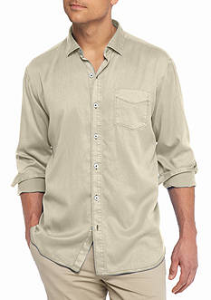 Tommy Bahama Big & Tall Still Twillin Long Sleeve Shirt