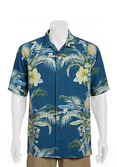 Tommy Bahama Big & Tall Shut The Frond Door Woven Shirt