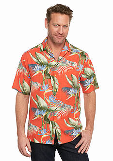 Tommy Bahama® Big & Tall Cool, Palm and Collected Woven Shirt