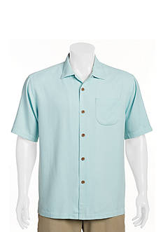Tommy Bahama® Big & Tall Solid Belize Woven Shirt