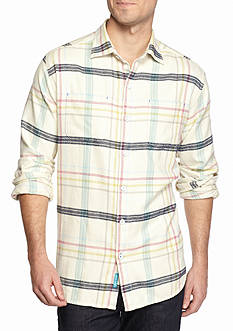 Tommy Bahama Big & Tall Sun & Sea Flannel Shirt