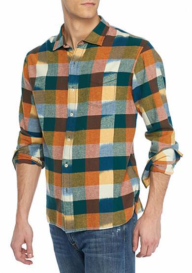 Tommy Bahama Big Tall Tropic Of Flannel Plaid Shirt Belk