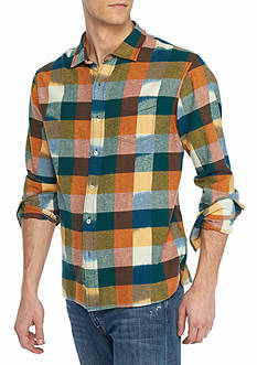 Tommy Bahama® Big & Tall Tropic Of Flannel Plaid Shirt