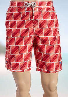 Tommy Bahama® Big & Tall Baja Hit The Bricks Board Shorts