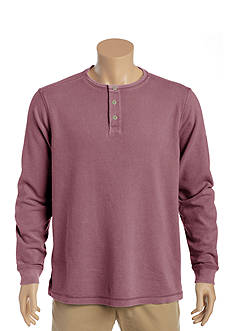 Tommy Bahama Shore Break Henley Long Sleeve Shirt