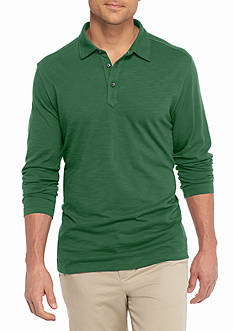 Tommy Bahama® Long Sleeve Portside Player Spectator Polo Shirt