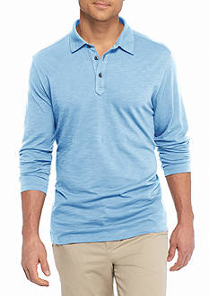 Tommy Bahama Long Sleeve Portside Player Spectator Polo Shirt