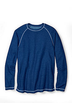 Tommy Bahama® Long Sleeve Corcovado Reversible Crew Neck Shirt