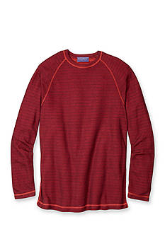 Tommy Bahama Long Sleeve Corcovado Reversible Crew Neck Shirt