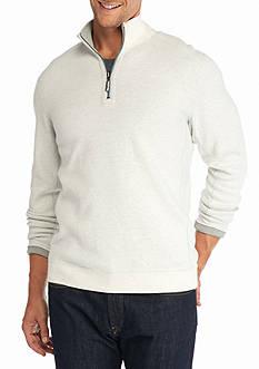 Tommy Bahama Flipside Half Zip Reversible Pullover Sweater