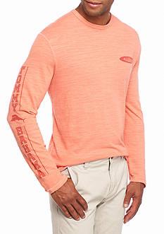 Tommy Bahama Sundays Best Aloha Long Sleeve Crew Shirt