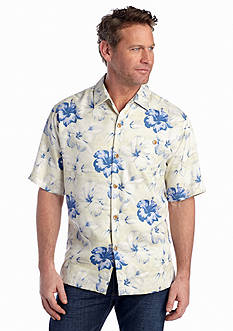 Tommy Bahama® Short Sleeve Hibiscus Terrace Woven Shirt