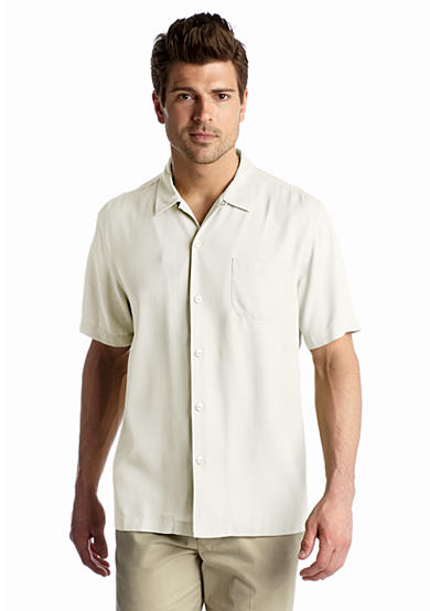 Short Sleeve Island Modern Fit Hamilton Camp Shirt