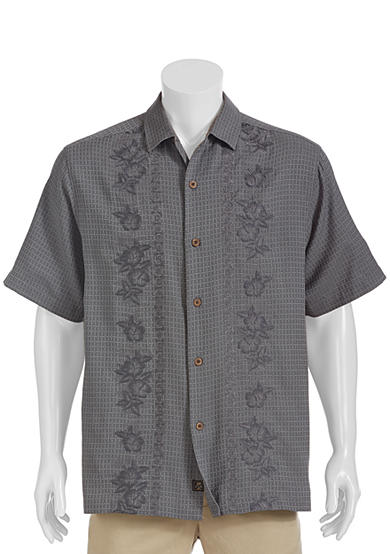 Tommy bahama trellis springs short sleeve woven shirt belk for Where to buy tommy bahama shirts