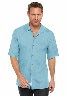Tommy Bahama® Short Sleeve Rio Fronds Woven Shirt