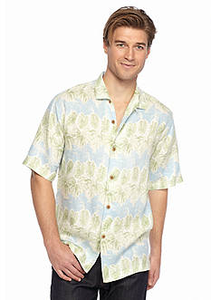 Tommy Bahama Short Sleeve Lino Vines Woven Shirt