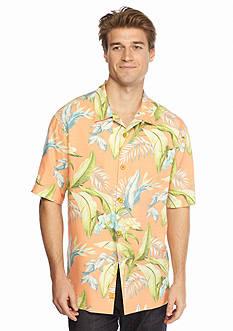 Tommy Bahama Short Sleeve St. Tropez Ole Woven Shirt