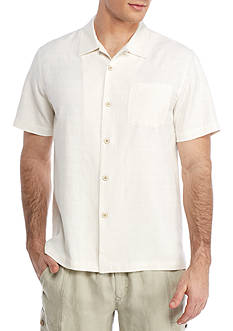 Tommy Bahama® Geo-rific Jacquard Short Sleeve Button Down