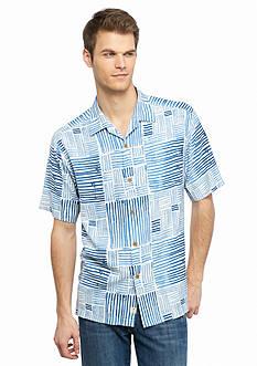 Tommy Bahama Terrace Tiles Short Sleeve Woven Shirt