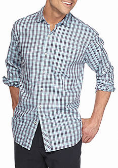 Tommy Bahama Cayes Check Long Sleeve Woven Shirt