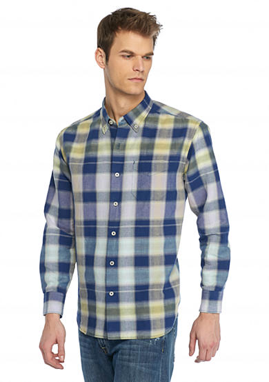 Chaveta Check Long Sleeve Woven Shirt