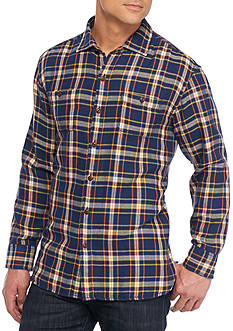 Tommy Bahama Flannel Del Fuego Long Sleeve Button Down Shirt