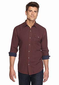 Tommy Bahama Long Sleeve Havana Squared Shirt