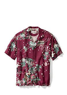 Tommy Bahama Short Sleeve Merry Kitchmas Camp Shirt
