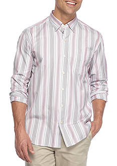 Tommy Bahama Long Sleeve Roda Viva Striped Shirt