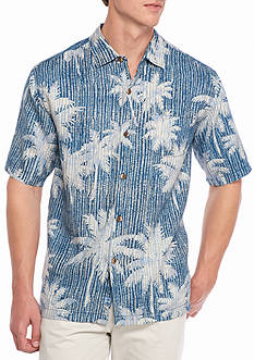 Tommy Bahama Palamatrix Short Sleeve Button Down Tee