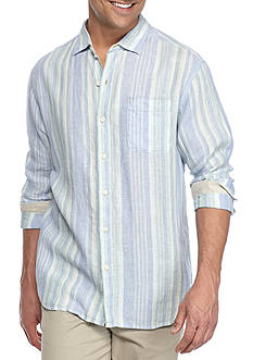 Tommy Bahama Selgado Stripe Long Sleeve Button Down Shirt