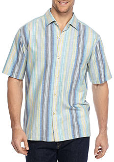 Tommy Bahama Cabo Frio Stripe Short Sleeve Button Down Shirt