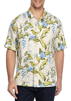 Tommy Bahama Briga Blooms Short Sleeve Button Down Shirt