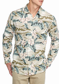 Tommy Bahama Long Sleeve Canoa Camo Shirt