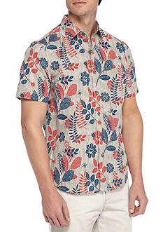 Tommy Bahama Caipirinha Floral Short Sleeve Button Up Shirt