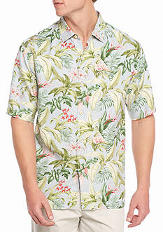 Tommy Bahama Bloom Town Button Down Short Sleeve Shirt