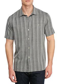 Tommy Bahama Short Sleeve Zaldera Stripe Button Down Shirt