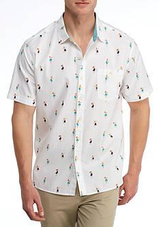 Tommy Bahama Short Sleeve Hu-La-La Button Down Shirt