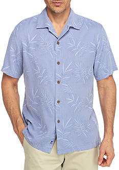 Tommy Bahama Luau Floral Short Sleeve Button Down Shirt