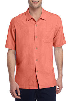 Tommy Bahama Short Sleeve Coastal Fronds Button Down Shirt