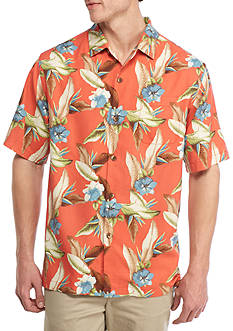 Tommy Bahama Short Sleeve Tropic Of Triton Button Down Shirt