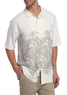 Tommy Bahama Short Sleeve Seaworthy Vines Button Down Shirt
