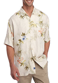 Tommy Bahama Short Sleeve Volas Vineyard Button Down Shirt