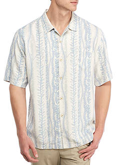 Tommy Bahama Short Sleeve Next In Vine Button Down